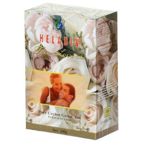 Фото - Чай зеленый Heladiv Tea Lovers, 100 г чай heladiv hq green tea 100 пак