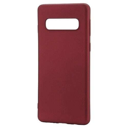 Чехол X-LEVEL Guardian для Samsung Galaxy S10 бордовый