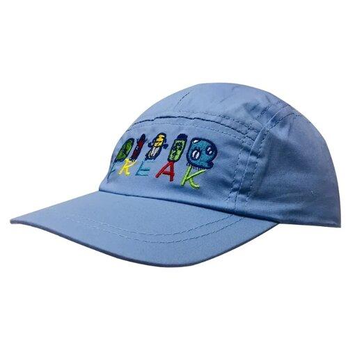 Купить Бейсболка Be Snazzy размер 50, синий, Головные уборы