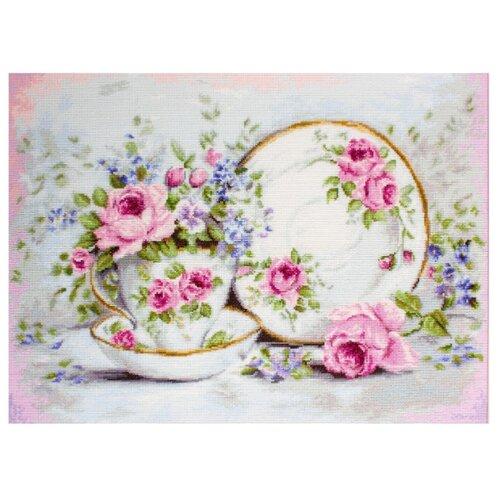 Фото - Luca-S Набор для вышивания Трио и цветы, 48 х 35 см, BA2318 набор для вышивания luca s b548 клёвое место