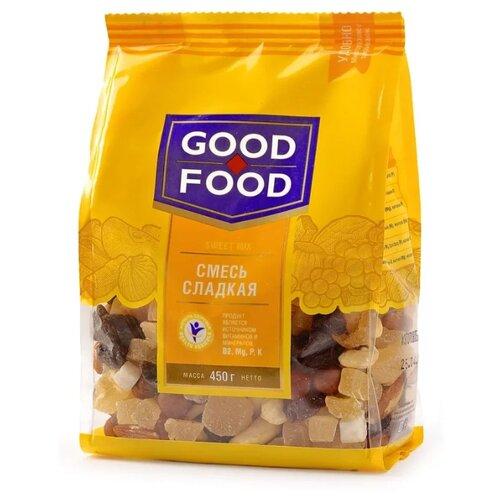 Смесь орехов, сухофруктов и цукатов GOOD FOOD Сладкая 450 г