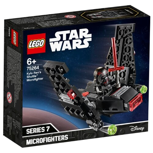 Конструктор LEGO Star Wars 75264 Episode IX Микрофайтеры: шаттл Кайло Рена конструктор lego star wars микрофайтеры 75263