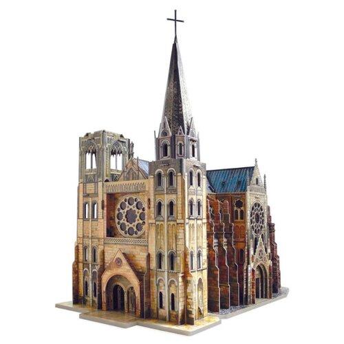 Пазл Умная Бумага Архитектурные памятники Готический собор (255) умная бумага пазл для малышей ракета