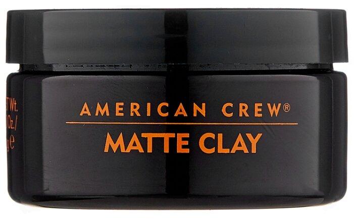 American Crew Глина Matte Clay, сильная фиксация
