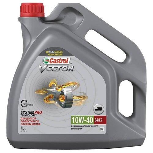 цена на Моторное масло Castrol Vecton 10w-40 E4/E7 4 л