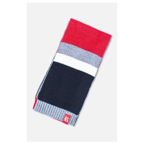 Шарф playToday серый/белый/красный шарф playtoday