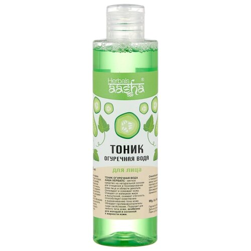 Aasha Herbals Тоник Огуречная вода 200 мл