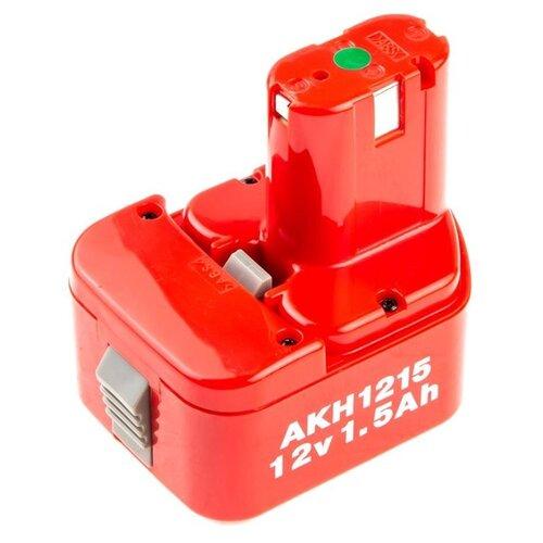 Аккумулятор Hammer AKH1215 Ni-Cd 12 В 1.5 А·ч аккумулятор для hammer premium ni cd acd144 acd144c