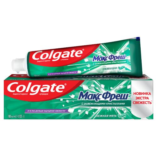Купить Зубная паста Colgate Макс Фреш Нежная Мята освежающая, 100 мл