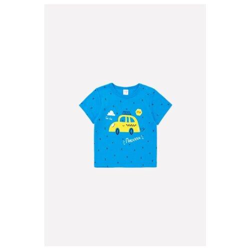 Купить Футболка crockid размер 68, индиго, Футболки и рубашки