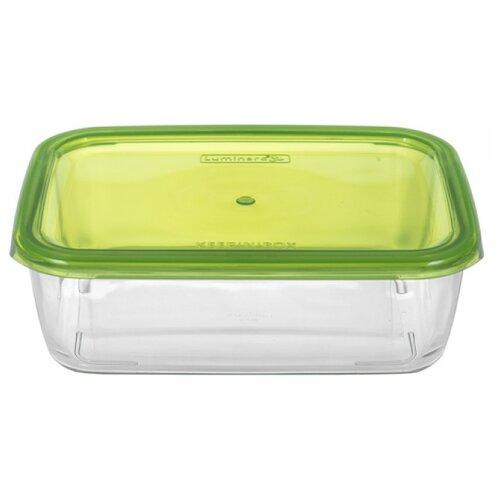 Luminarc Контейнер прямоугольный KEEP'N'BOX 1.97 л зеленый контейнер прямоугольный dosh i home контейнер прямоугольный