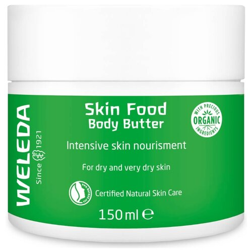 Крем для тела Weleda Skin Food Body Butter, банка, 150 мл крем для тела weleda skin food body butter банка 150 мл