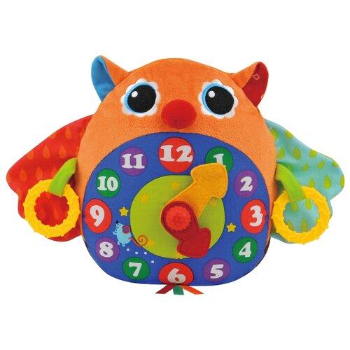 Купить Интерактивная развивающая игрушка K's Kids Часы-Сова оранжевый, Развивающие игрушки