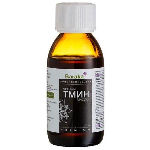 Baraka Масло черного тмина Эфиопские семена, стеклянная бутылка 0.1 л