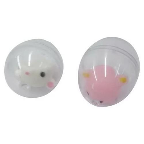 Мягкая игрушка в яйце Junfa toys Медведь, 15 см