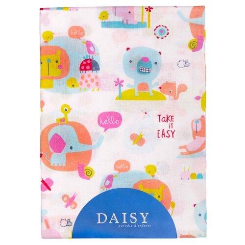 Купить Многоразовые пеленки Daisy хлопок 90x150 слоники, Пеленки, клеенки