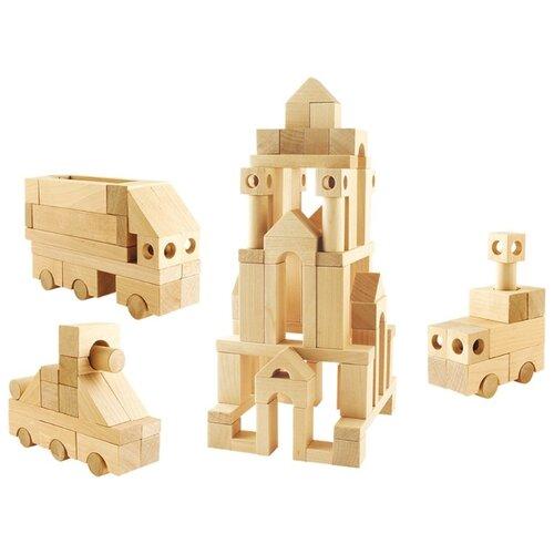 Купить Кубики Теремок (Пелси) Строительный набор И628, Детские кубики