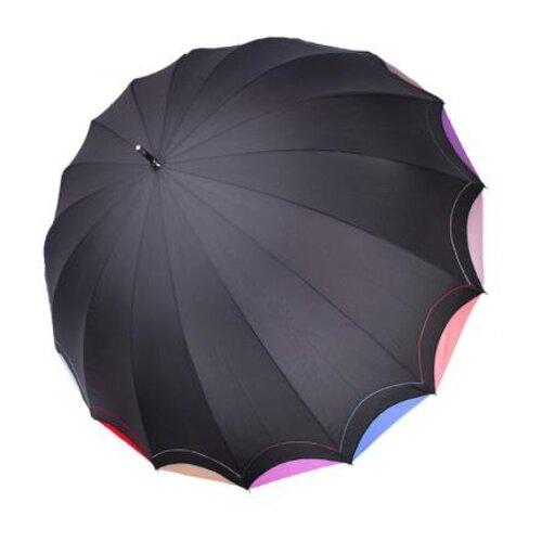 Фото - Зонт-трость полуавтомат Три слона 1100 черный зонт трость полуавтомат три слона 1100 бордовый