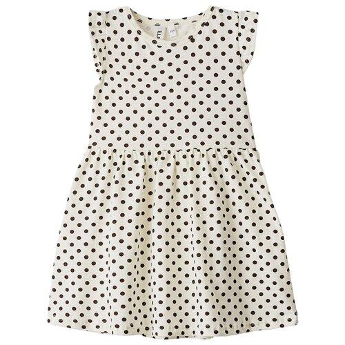Платье Elaria размер 122, бежевый