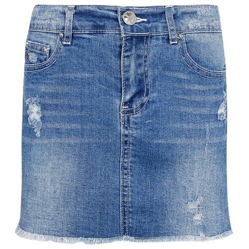 Фото - Юбка Silvian Heach размер 164, синий юбка silvian heach размер 164 синий