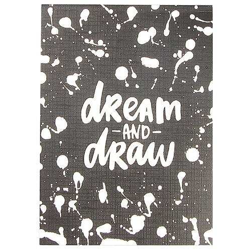 Скетчбук для зарисовок Подписные издания Dream and draw 21 х 14.8 см (A5), 120 г/м², 30 л. открытка подписные издания дом мельникова 10 х 15 см