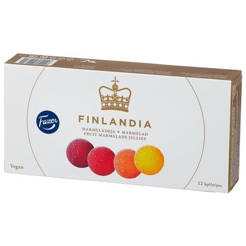 Мармелад Fazer Finlandia со вкусом абрикоса, черной смородины, лимона, клубники 260 г