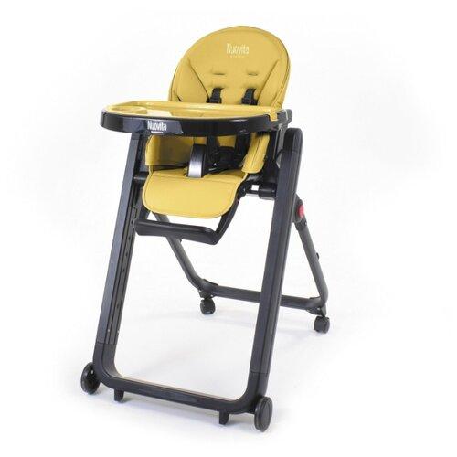 Растущий стульчик Nuovita Futuro Senso giallo nero