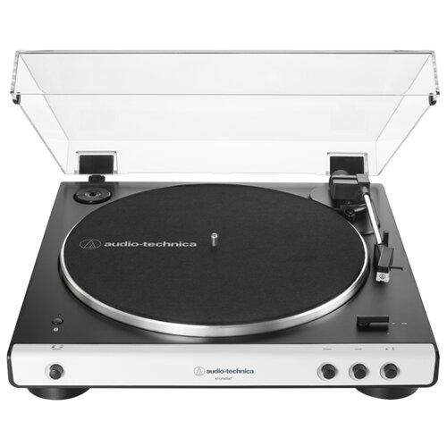 Виниловый проигрыватель Audio-Technica AT-LP60XBT белый виниловый проигрыватель audio technica at lp120x usb black