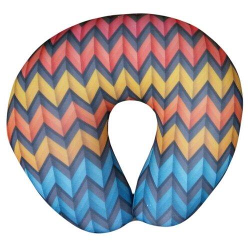 Антистрессовая подушка для шеи Штучки, к которым тянутся ручки турист Геометрия 2