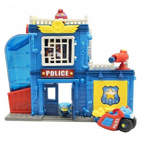 Купить Игровой набор Magicbox Toys Superzings - Полицейский участок 7898, Игровые наборы и фигурки