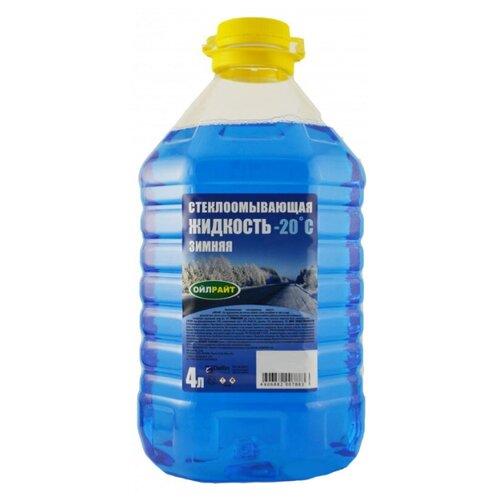 Жидкость для стеклоомывателя OILRIGHT 5206, -20°C, 4 л