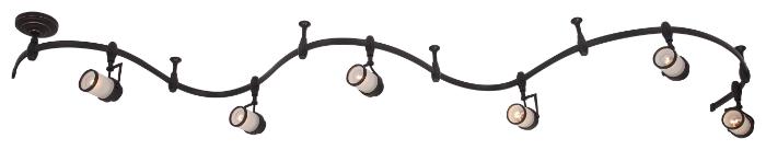 Трековая система Arte Lamp A3056PL-6BK