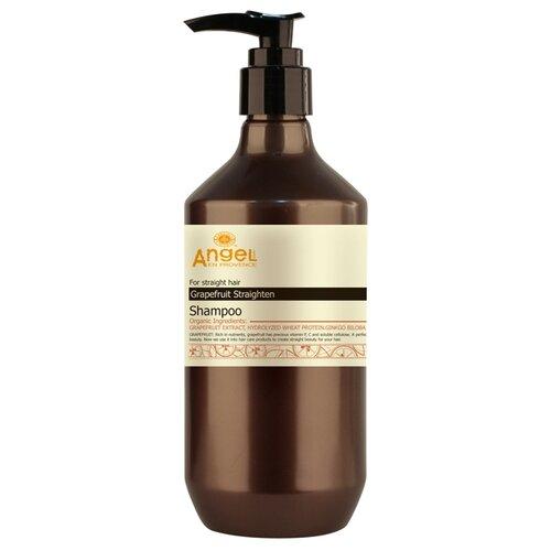 Angel Provence шампунь для выпрямления волос с экстрактом грейпфрута 250 мл с дозатором шампуни для выпрямления волос купить