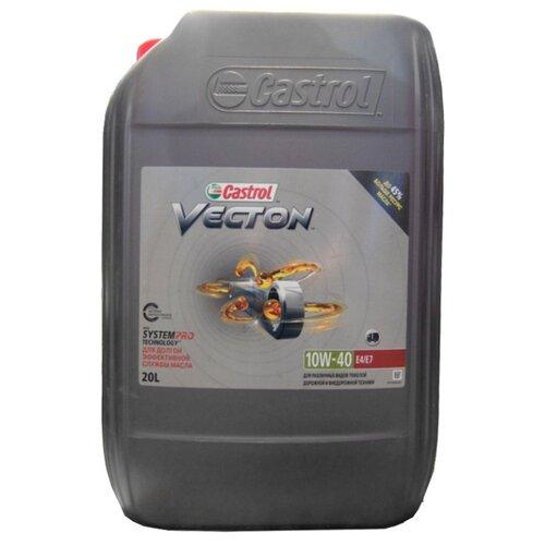 цена на Моторное масло Castrol Vecton 10w-40 E4/E7 20 л