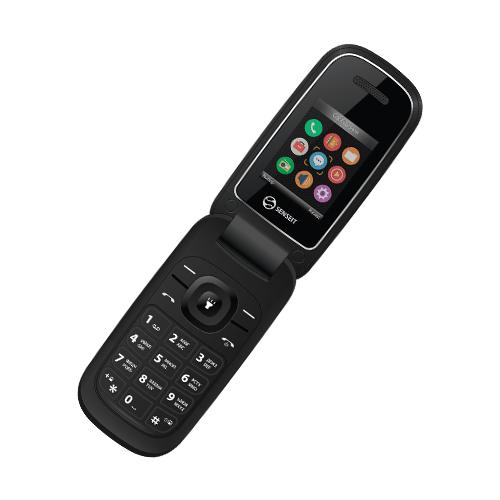 Телефон SENSEIT F1 черный сотовый телефон senseit p101 black