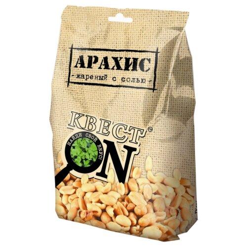 Арахис Квест ON жареный с солью пластиковый пакет 100 г