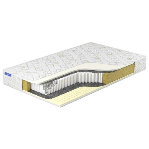 Матрас Miella Memory-Latex S2000 90x200, пружинный, белый
