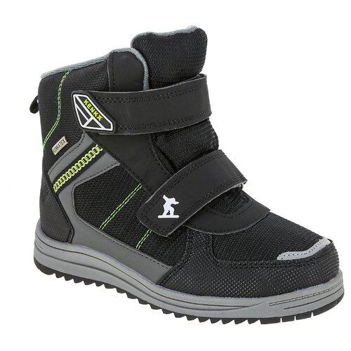 Ботинки KENKA размер 32, черный ботинки для мальчика kenka цвет черный fkh 6626 2 black размер 28