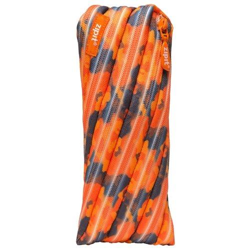 ZIPIT Пенал-сумочка CAMO POUCH (ZT-CG) оранжевый камуфляж zipit пенал сумочка neon pouch цвет розовый