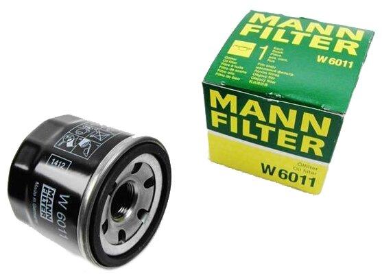 Масляный фильтр MANNFILTER W6011