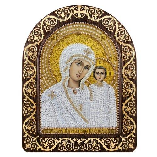 NOVA SLOBODА Набор для вышивания бисером Богородица Казанская 13, 5 x 17 см (СН5002), Наборы для вышивания  - купить со скидкой
