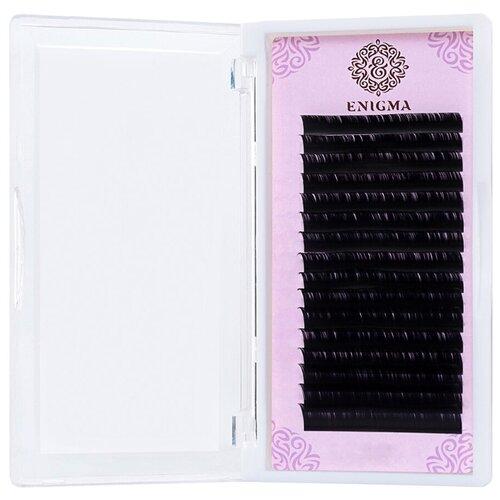 Черные ресницы Enigma 0, 07/L/12 mm (16 линий)  - Купить