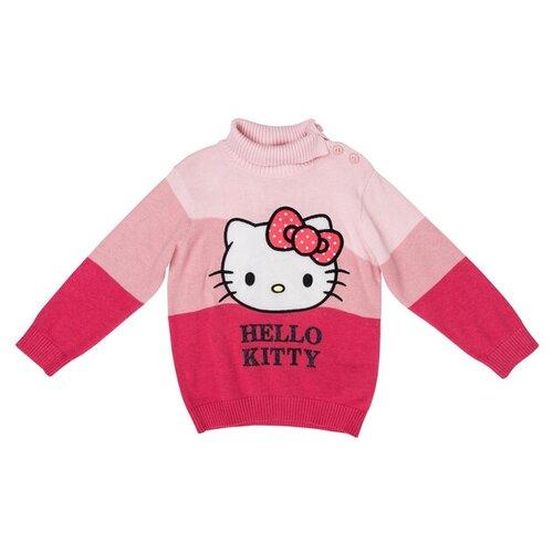 Водолазка playToday 578001 размер 74, розовый/светло-розовый/темно-красный мелонс водолазка мелонс розовый 48 74