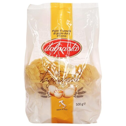 Italpasta Макароны Tagliatelle with eggs 126 яичные, 500 г