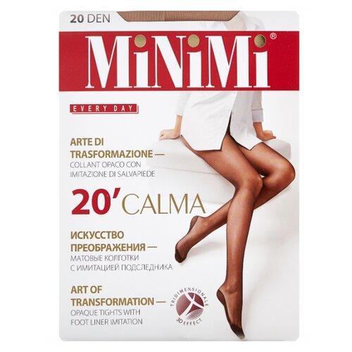 Колготки MiNiMi Calma 20 den, размер 5-XL, daino (бежевый) колготки minimi la sfera 20 den размер 5 xl daino бежевый