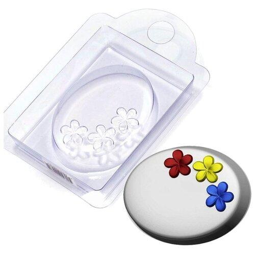 Форма для мыла Выдумщики.ru Незабудки, пластик форма для мыла выдумщики лапка