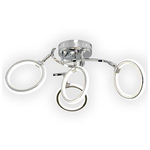 Светильник светодиодный Максисвет Геометрия 1-1659-4-CR Y LED, LED, 72 Вт люстра максисвет геометрия 1 1696 6 cr y led