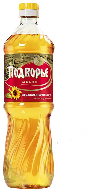 Подворье Масло подсолнечное нерафинированное