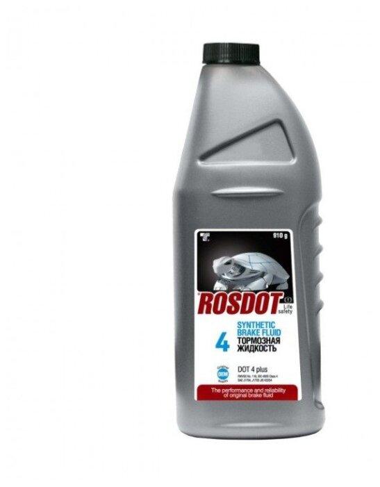 Тормозная жидкость РосДОТ DOT 4 0.91 л