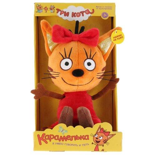 Купить Мягкая игрушка Мульти-Пульти Три кота Карамелька 16 см в коробке, Мягкие игрушки